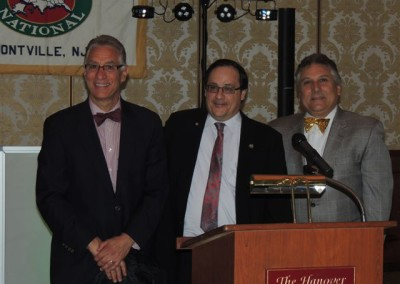 Larry Casha, UNICO National President Richard D'Arminio and Anthony Malanga